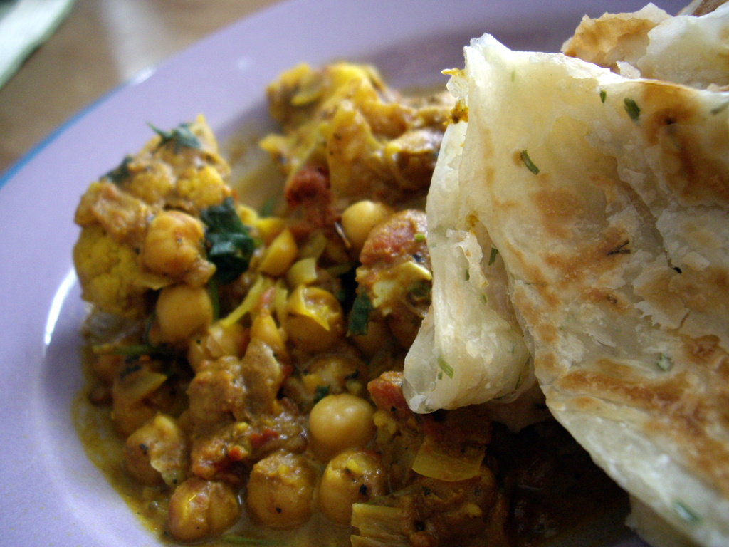 chickpea and cauliflower curry adapted from bon appetit curried ...