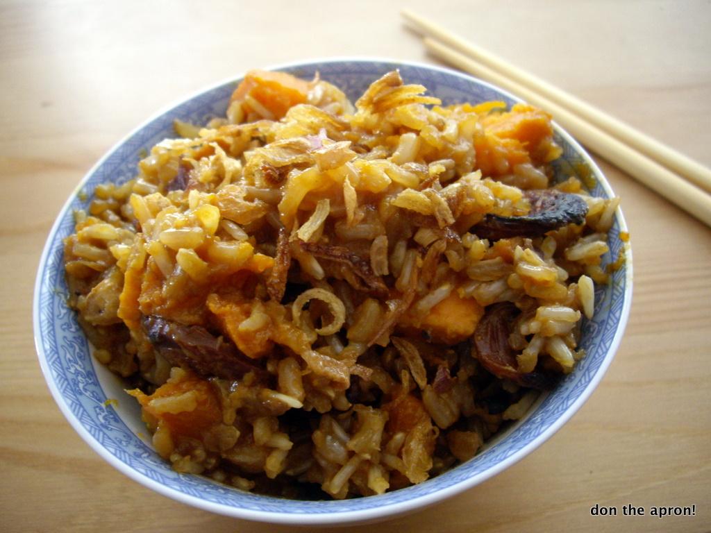 Yam Rice Recipe — Dishmaps
