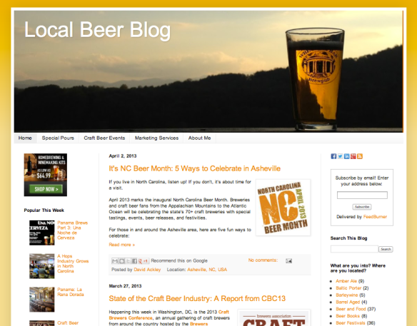 Local Beer Blog Ackley